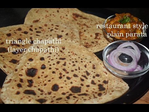 Plain Paratha in Kannada