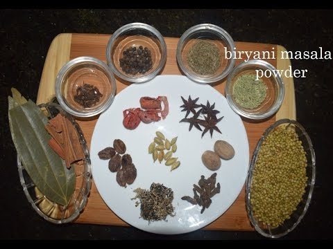 Biryani masala powder/ Pulao masala powder/Biryani masala powder recipe in kannada
