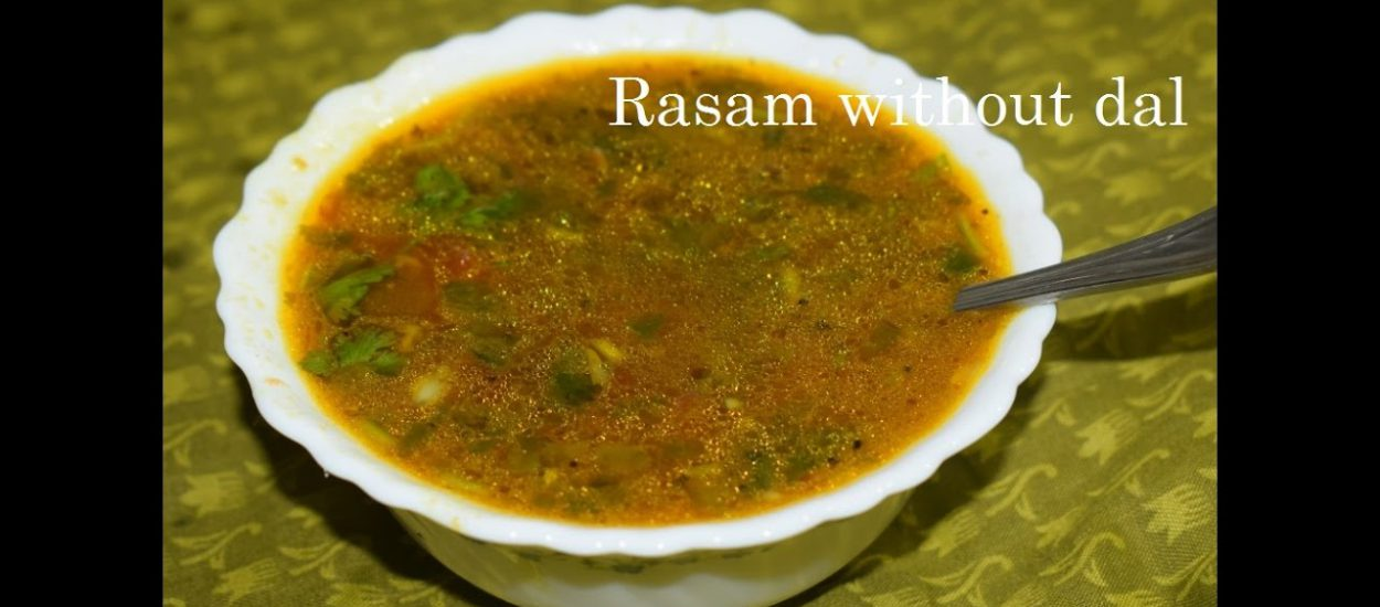 Pepper Garlic Rasam in Kannada