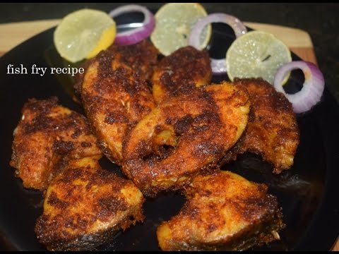 Simple and spicy fish fry Recipe/Fish Fry in kannada/Street Style Fish Fry Recipe/Meen fry