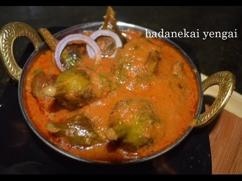 Badanekai yengai in kannada/Restaurent style stuffed egg plant curry/Hyderabadi stuffed baingan