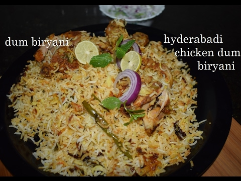 Hyderabadi Chicken Dum Biryani Recipe/Chicken biryani in kannada/Biryani recipe