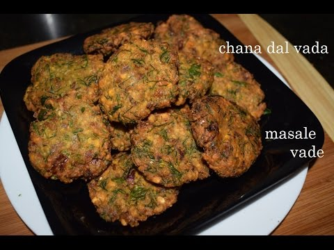 Masala Vada /Kadlebele vade/ South Indian chana dal vada/ Ambode/Masala vada in kannada/dal vada
