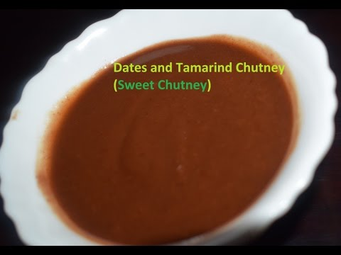 Sweet chutney recipe for chats in Kannada/Tamarind Dates Chutney Recipe in Vaishnavi channel