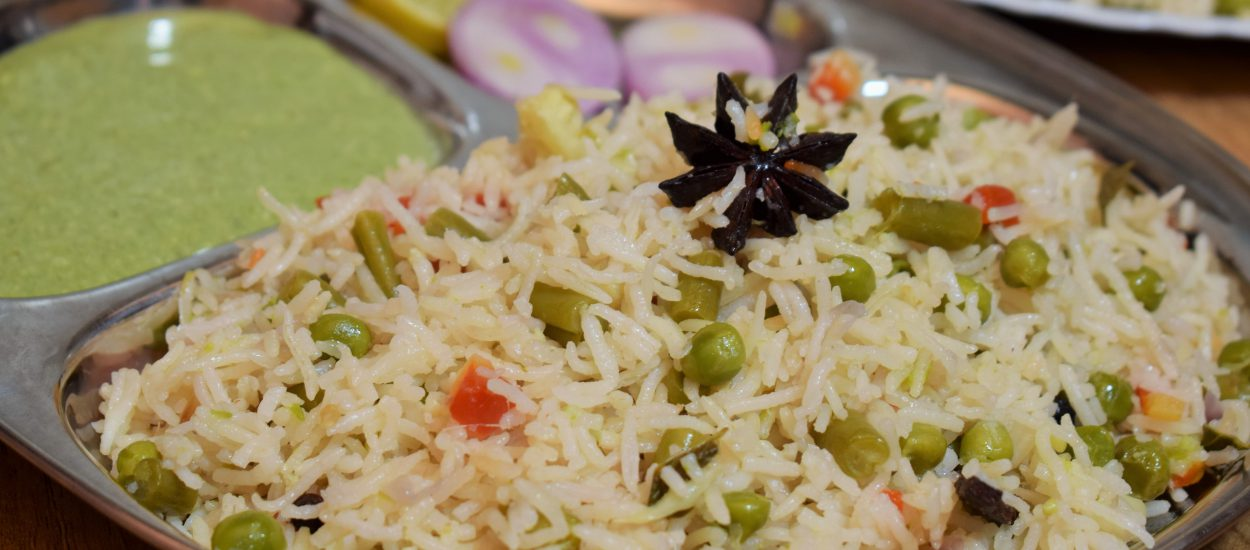 Restaurant Style Vegetable pulao using basmatii rice in just 20min